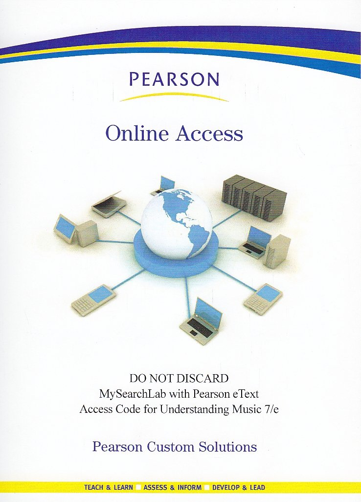 Download MySearchLab Access Code -- Understanding Music 7/E pdf