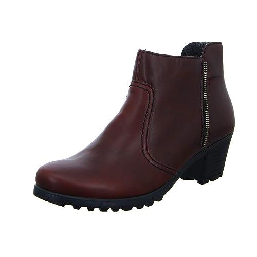 6568bc4c54a Rieker Y8070 - Botas sin Cremallera de Sintético Mujer: Amazon.es: Zapatos  y complementos