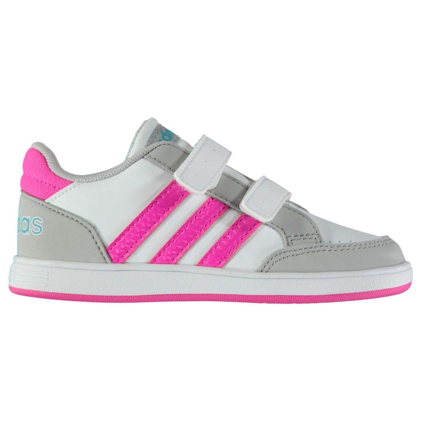 42f16c606 Adidas Hoops CMF INF Zapatillas Niña velcros (21 EU): Amazon.es: Zapatos y  complementos