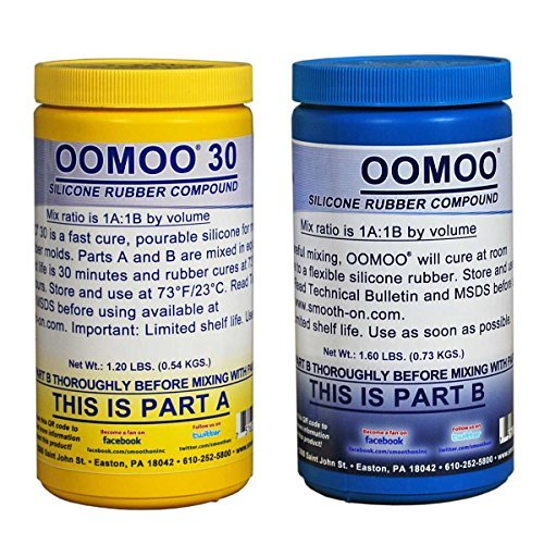 OOMOO 30 Silicone Mold Making Rubber - Trial - Batch Unit