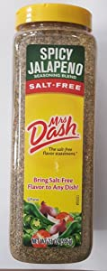 Mrs. Dash Salt Free Spicy Jalapeno Seasoning Blend, 21 Ounce