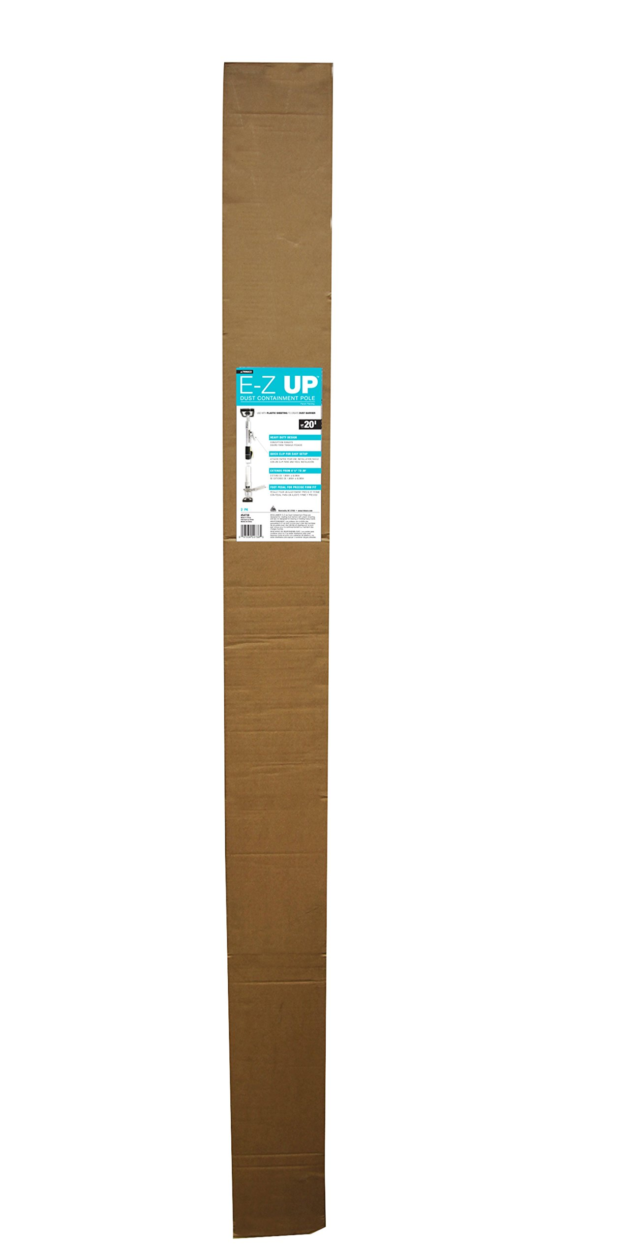 E-Z Up 54738 Dust Containment Pole (2 Pack), 20' by E-Z UP (Image #2)