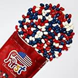 FirstChoiceCandy Jelly Belly American Patriot Jelly Beans 2 Pound 32 oz Resealable Bag