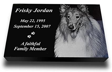 Amazon Com X Large Premium Pet Headstone Pet Grave Markers Pet