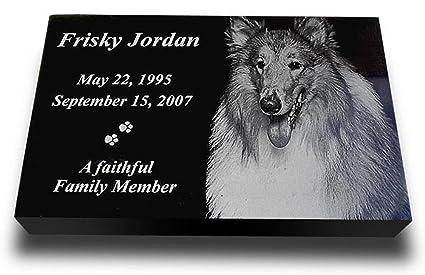 Amazon Com X Large Premium Pet Headstone Pet Grave Markers Pet