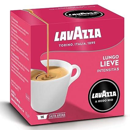 Lavazza A Modo Mio Lieve Lungo - Cápsulas de café (32 ...