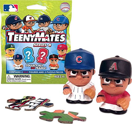 d8d3c0f752ae9 Party Animal TeenyMates MLB Series 4 Mini Figures Blind Bags Gift Set Party  Bundle - 6