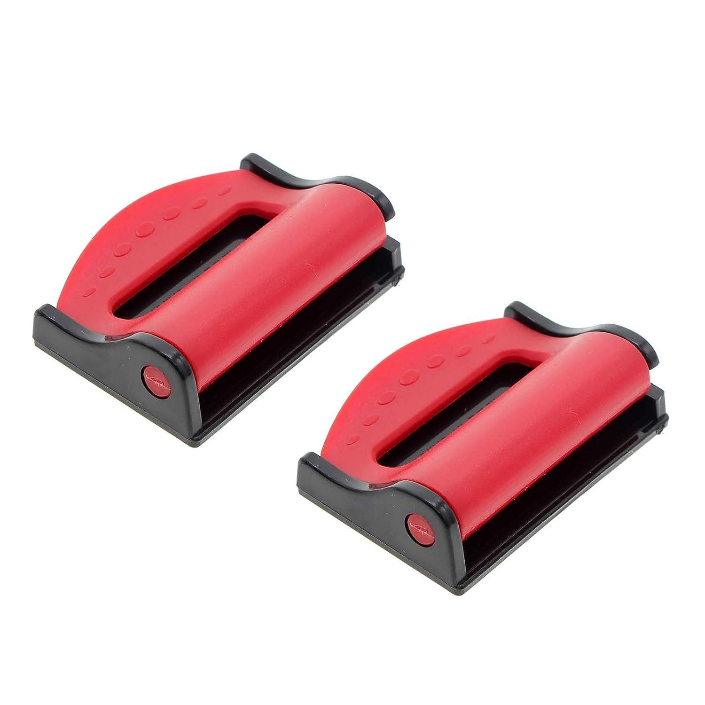 Sicher Auto-Sicherheitsgurt befestigt Tr/äger verstellbar Verschlussschnalle Rot