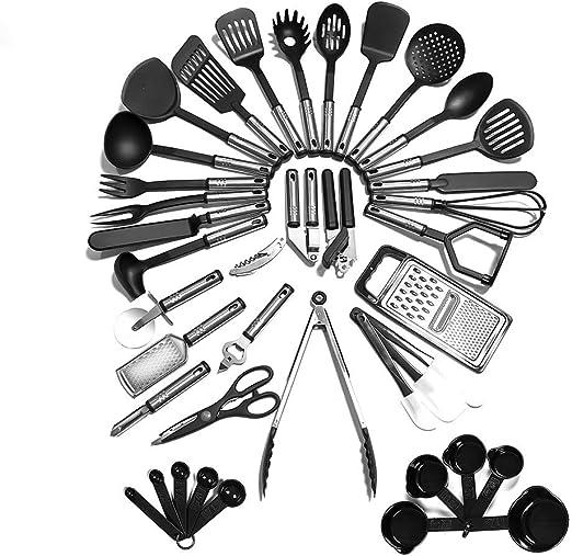 23 Nylon Cooking Utensils Kitchen Utensils with Spatula Kitchen Utensil Set