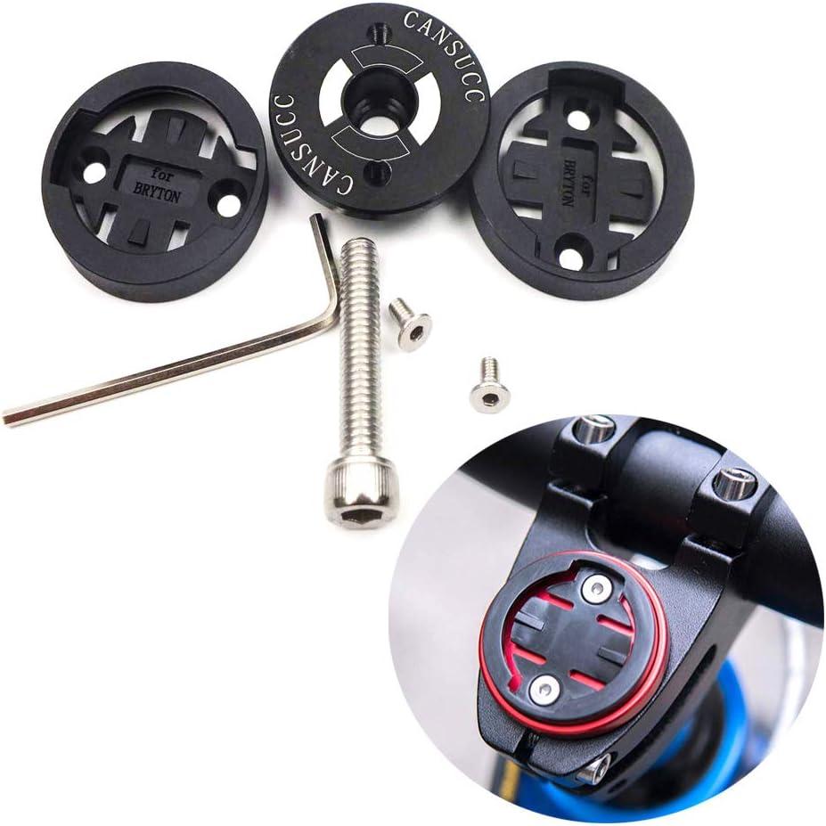 Bike Stem Headset Top Cap Computer Mount Base Adapter Holder for Garmin