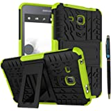Tab A 7 Inch Armor Case DWaybox 2in1 Combo Hybrid Rugged Heavy Duty Hard Back Case Cover with Kickstand for Samsung…