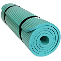 YUREN Thick Yoga Mat 1,5cm Extra Thick NBR Lightweight Non-Slip Non-Toxic Gym Ashtanga Bikram Fitness Exercise Mat, Incl…