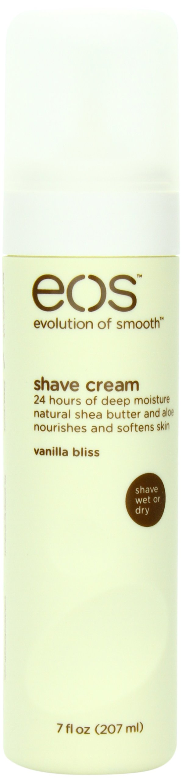 EOS Ultra Moisturizing Shave Cream, Vanilla Bliss, 7-Ounce Bottle (Pack of 3)