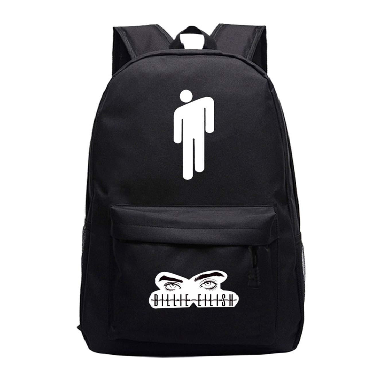 LI JI Billie Eilish With The Starry Sky Lightning Shoulder Bag Korean Version Of The Middle School Student Backpack Computer Bag Leisure Bag