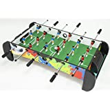 Foosball Table Games - Foosball Table Top for Family Fun, Portable Foosball Soccer Tabletop for Kids Indoor Play, Compact Siz