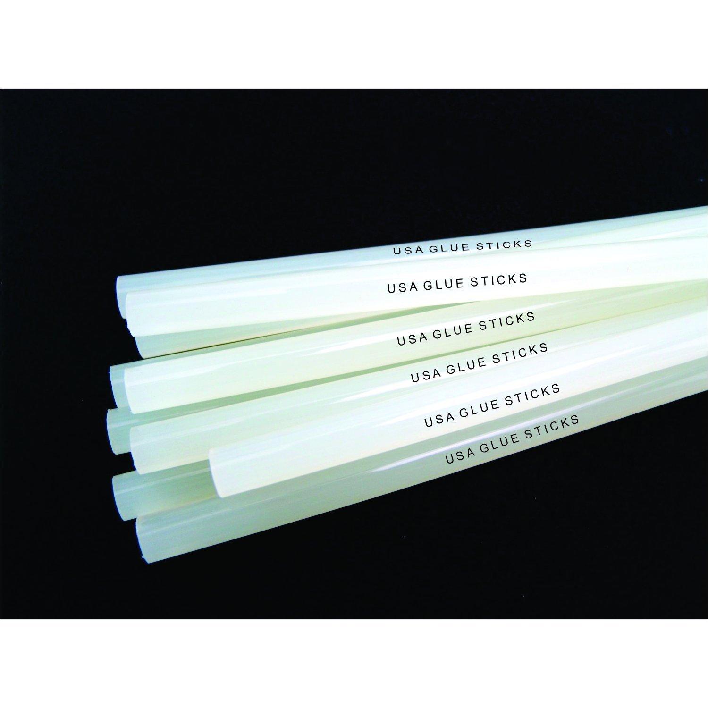 Clear Glue Sticks 10 Lbs - Clear, High Strength Glue Sticks-standard Size 7/16'' X 10'', Approximately 180 Sticks by USA Glue Sticks (Image #2)