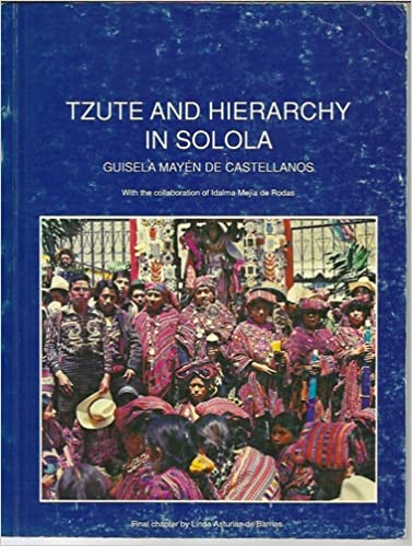 Tzute and Hierarchy in Solola (Guatemala) translated from ...