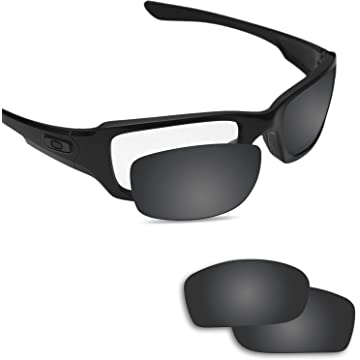 a8930c6f45 Fiskr Anti-saltwater Replacement Lenses for Oakley Fives Squared Sunglasses  - Various Colors