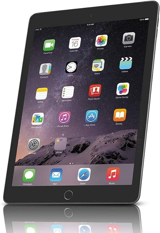 Apple iPad Air 2 MH2M2LL/A (64GB , Wi-Fi + 4G, Space Gray) VERSION (Certified Refurbished)