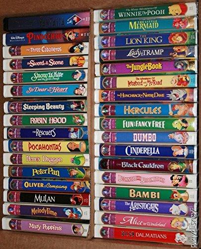 Disney VHS, Assorted lots/sets