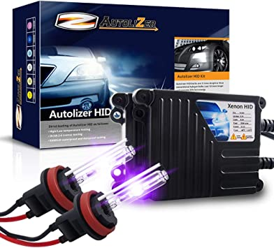 H11 H8 H9 12000K Violet Purple Autolizer 35W Xenon HID Lights