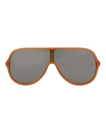 ff6ae02a1ac Amazon.com  Gucci sunglasses (GG-0199-S 005) Transparent Brown ...