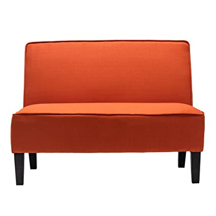 and recliners loveseat sofa leather sale modern sectional orange for futon contemporary sofas table