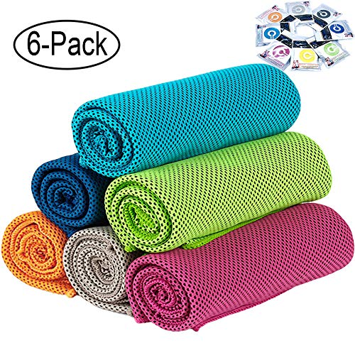 GeTeLe [6 Pack] Cooling Towel (36