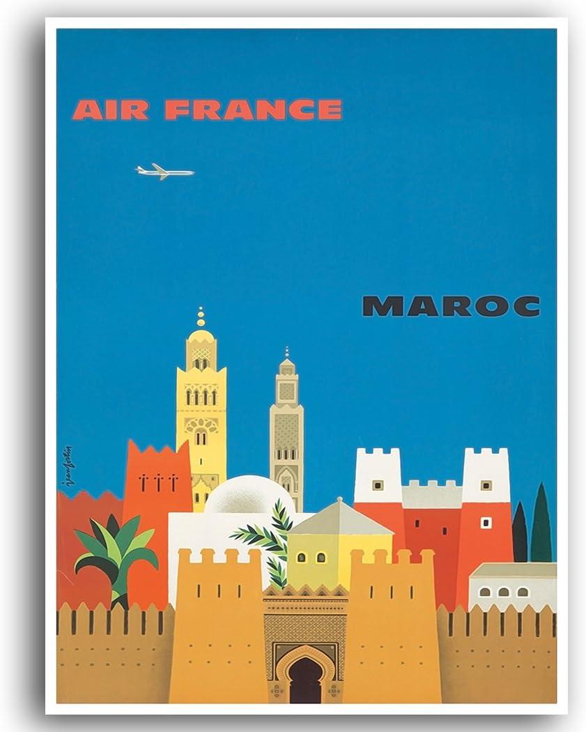 Krakow Vintage Travel Poster//Art Print