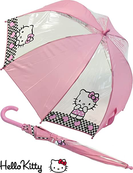 Clima - Paraguas hello kitty 48 cm burbuja