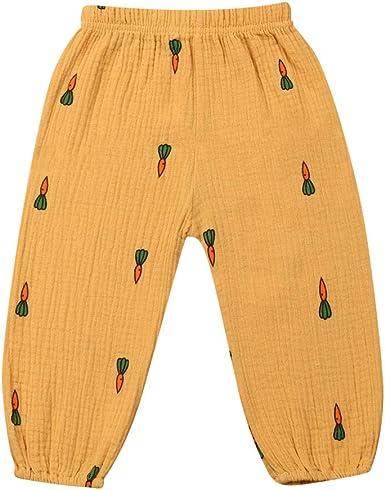 Pantalones Largos para Bebé de 1 a 4 Años Pantalón Casual de Algodón con Estampado de Lunares Leggings Pantalones Harén para Niños Niñas Pequeños: Amazon.es: Ropa y accesorios