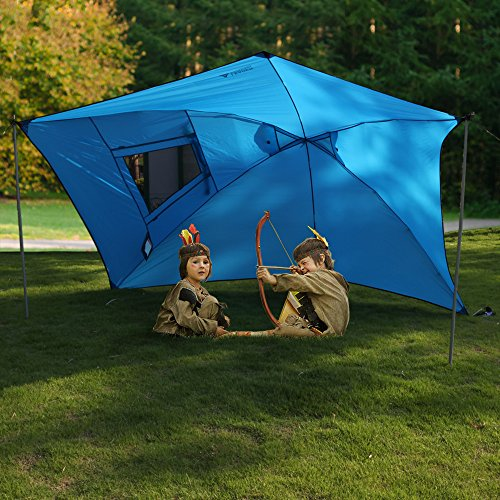 Leader Accessories Easy Set Up C&ing SUV Tent/Awning/Canopy/ Sun Shelter Tailgate Tent Beach Tent Suitable ...  sc 1 st  Hiking Gear Store & Accessories Easy Set Up Camping SUV Tent/Awning/Canopy/ Sun ...