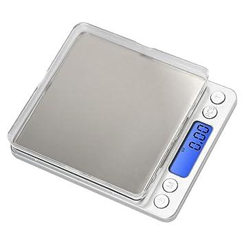 Amazon.com: Anferstore - Báscula digital de cocina y ...