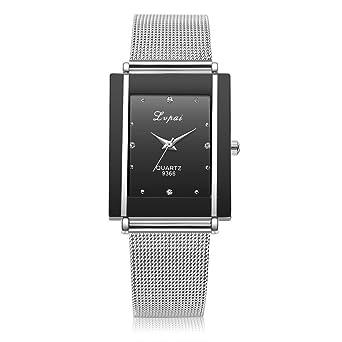 Cebbay Relojes de liquidación Hombres Mujeres Ocio Moda Reloj de pulsera de cuarzo Noble Reloj de señoras Vestido Relojes de regalo: Amazon.es: Relojes