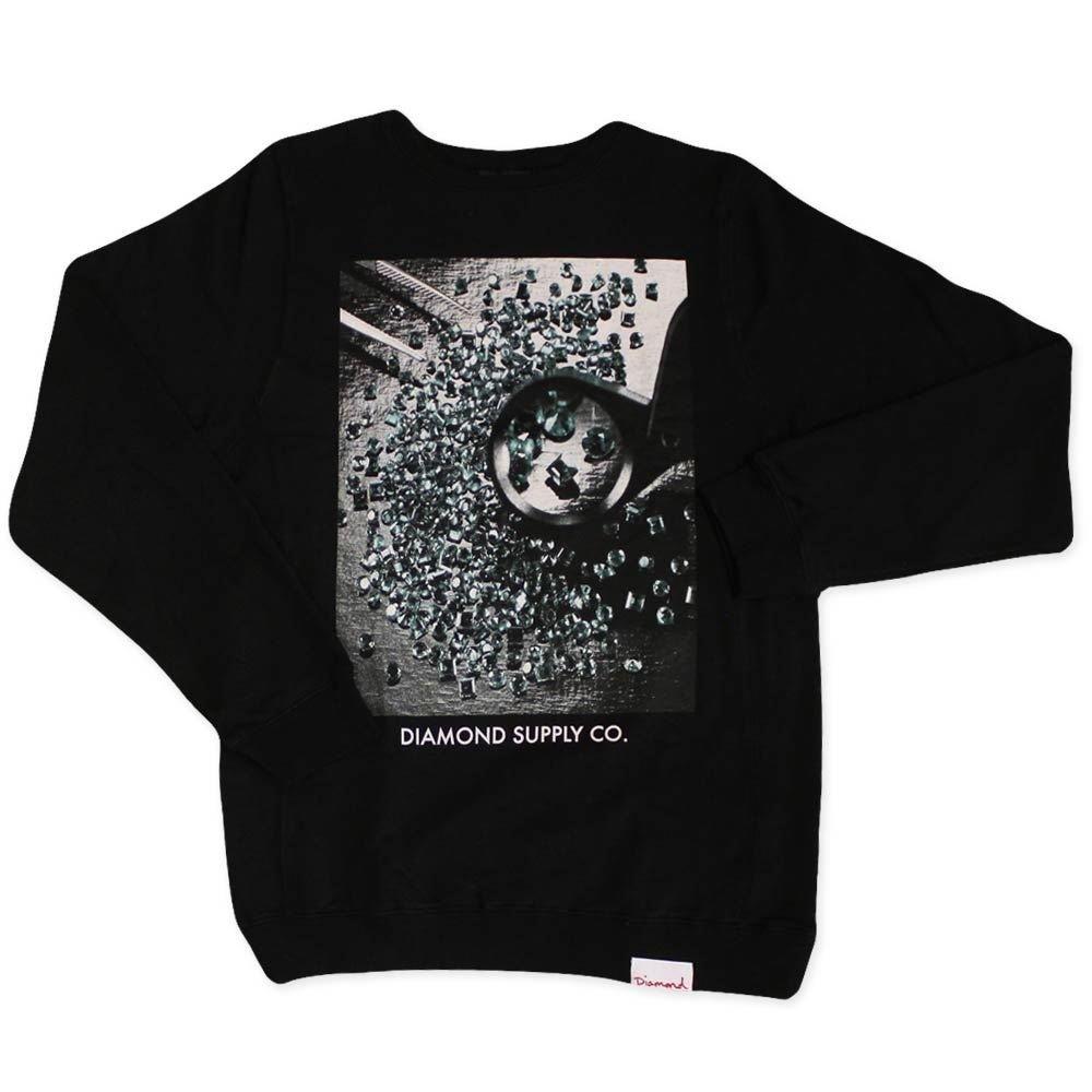 Diamond Supply Co. Gem Quality Sweatshirt schwarz
