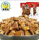 Qyz@ Chinese Sichun Special Snack Food:laiyifen Spicy Flavor Tofu 250g*2
