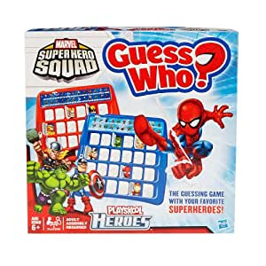 Spiderman Guess Who Board Game, Marvel Superhero's