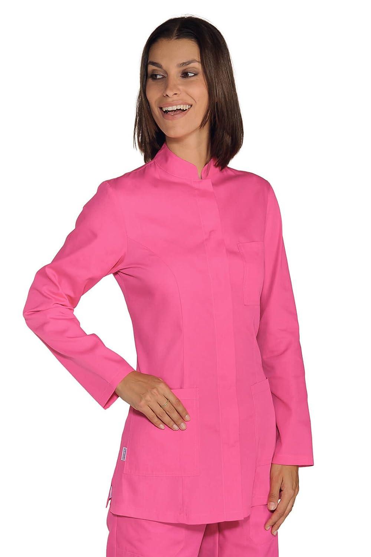 002860 Casacca Portofino - Isacco Fuxia per Abbigliamento per settori sanitario, benessere ed estetico Donna Casacche