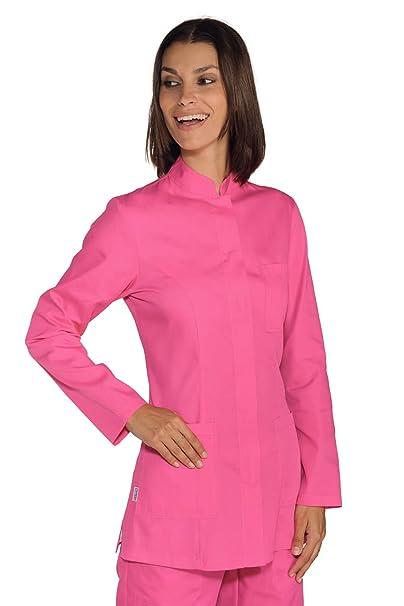 Isacco-Camiseta para mujer cuello Mao Portofino, color fucsia: Amazon.es: Ropa y accesorios