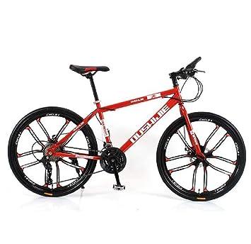 GDDYQ Bicicleta de montaña, 26 Pulgadas, 24 velocidades Frenos de ...
