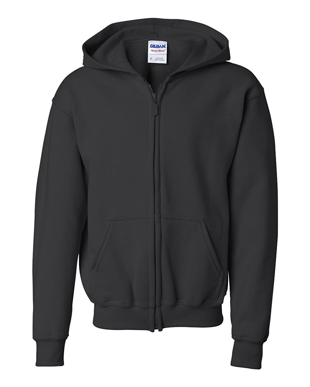 Gildan Heavy Blend Youth Full-Zip Hooded Sweatshirt