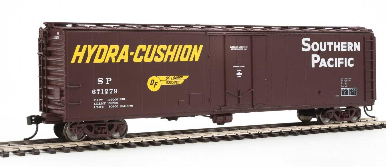 50フィート PC&F 断熱ボックスカー – すぐに走れます – Southern Pacific(TM) #671279 (Boxcar レッド、イエロー Hydra クッションマーキング) B0755KFGJF