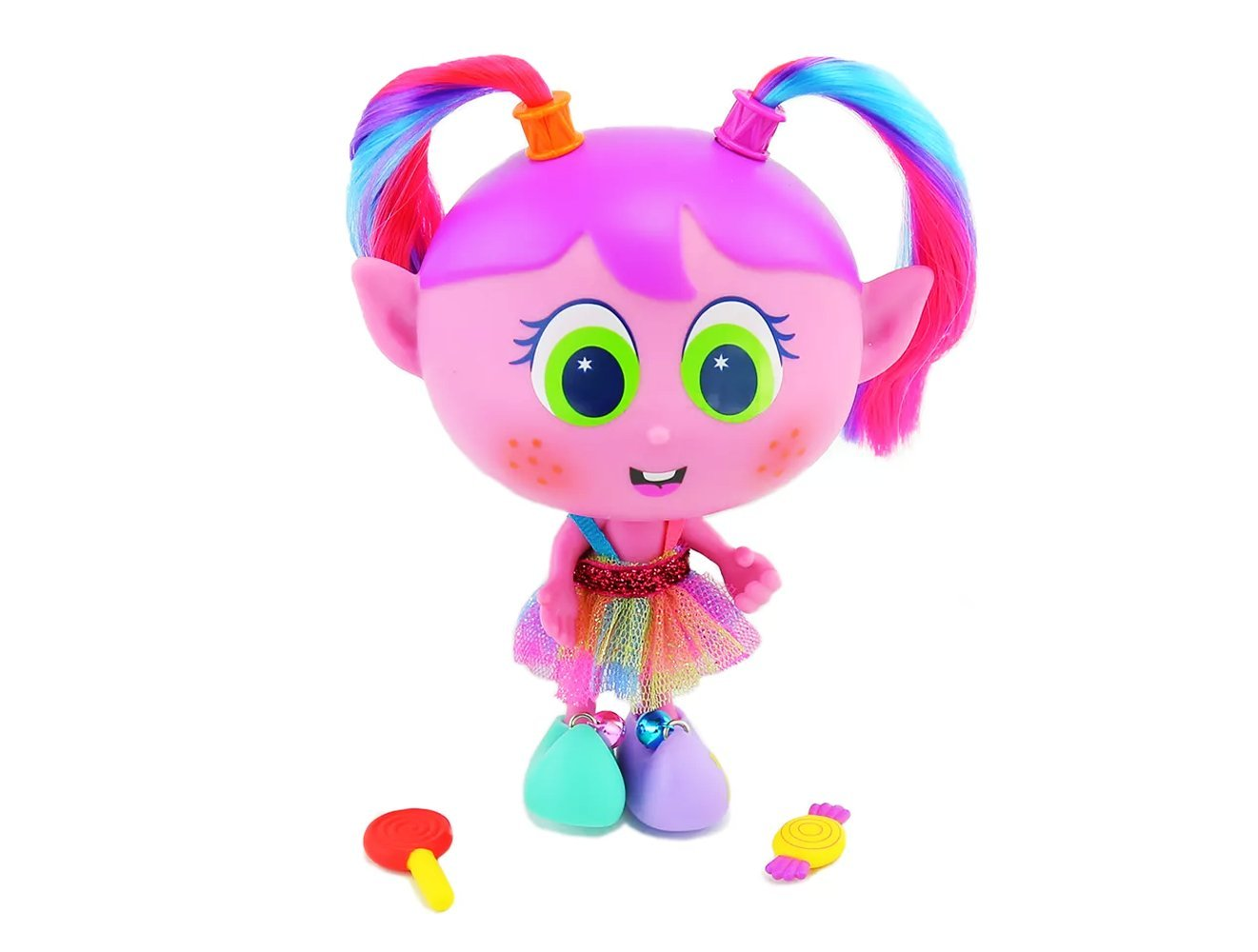 Cute Alushhhe Pink Elf w/ Green Eyes – Edition in Spanish – NEW Collection by K-simerito Distroller