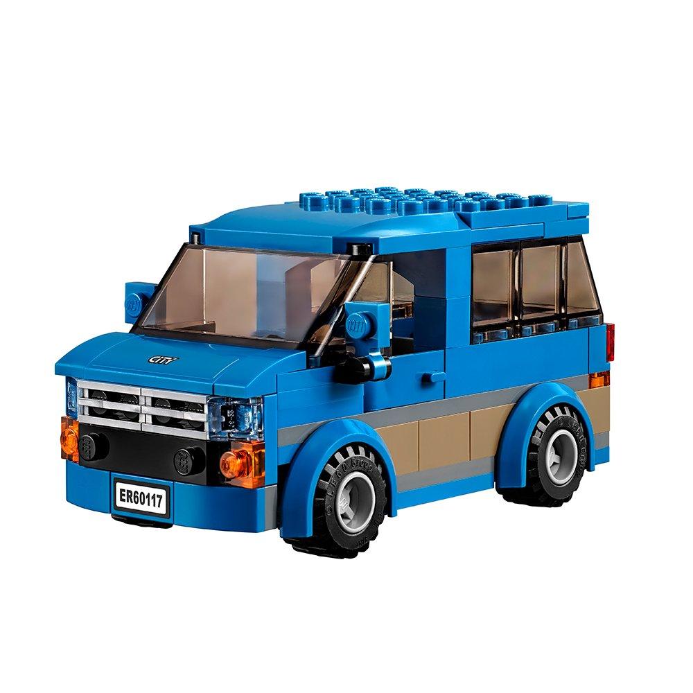Amazon Lego City Great Vehicles Van Caravan 60117 Building