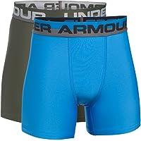 Under Armour O-Series Calzoncillos deportivos tipo bóxer para chico, 2 unidades