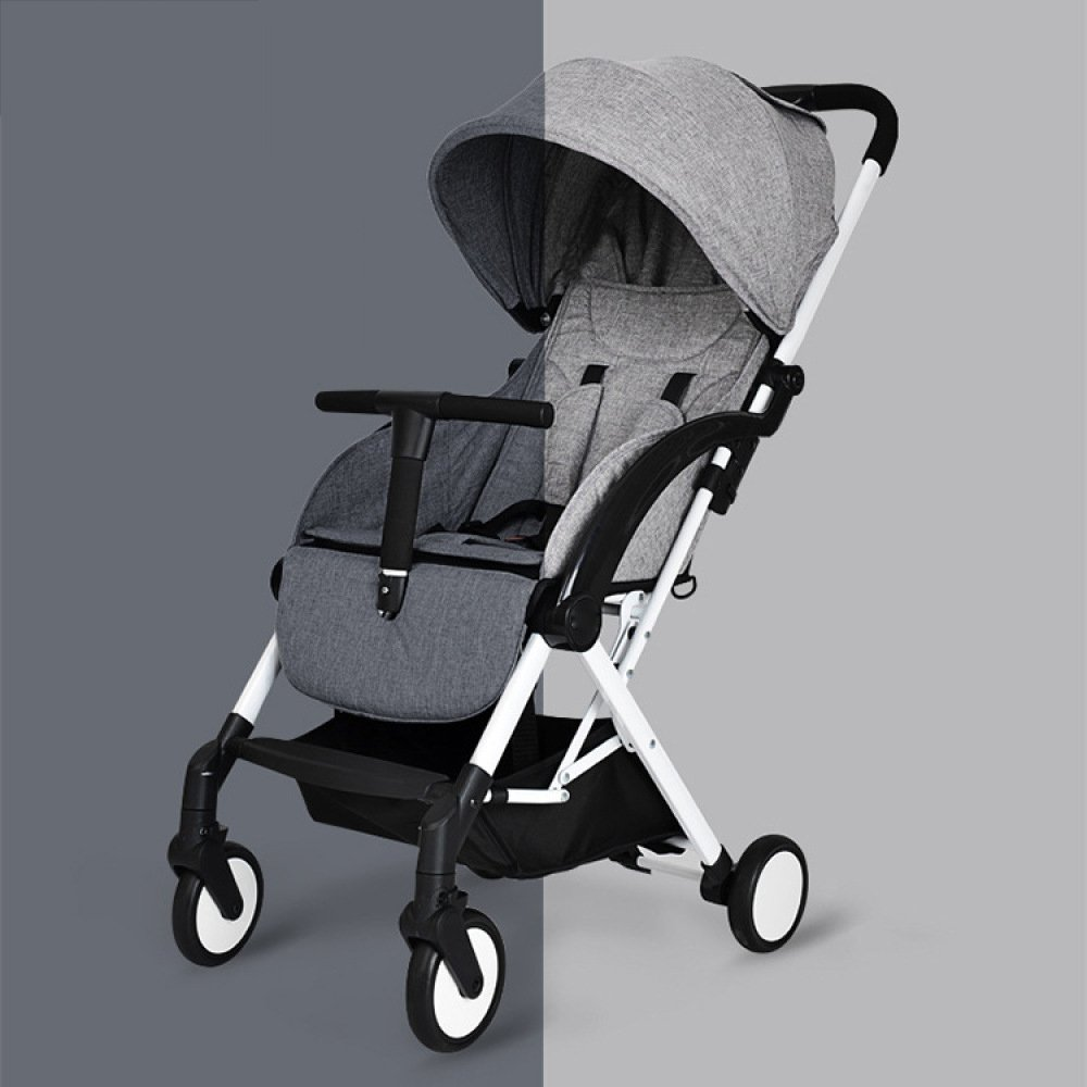 Amazon.com: QXMEI Baby Stroller Ultra-Light Portable Folding Baby Cart Summer Breathable Net Umbrella Car,F: Home & Kitchen
