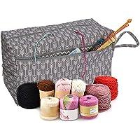 juman Handmade Yarn Storage Sturdy Portable Tote Premium