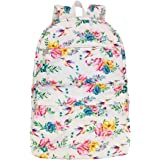 Laptop Backpack Travel Camping Hiking Casual Daypack College Middle High School Large Bookbag Cute Watercolor Hummingbird Flo