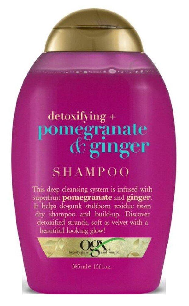 Ogx Shampoo Pomegranate & Ginger 13 Ounce (2 Pack)