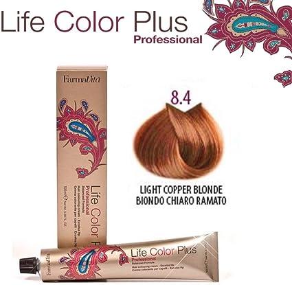 Farmavita Life Color Plus Tinte Capilar 8.4-90 ml: Amazon.es ...
